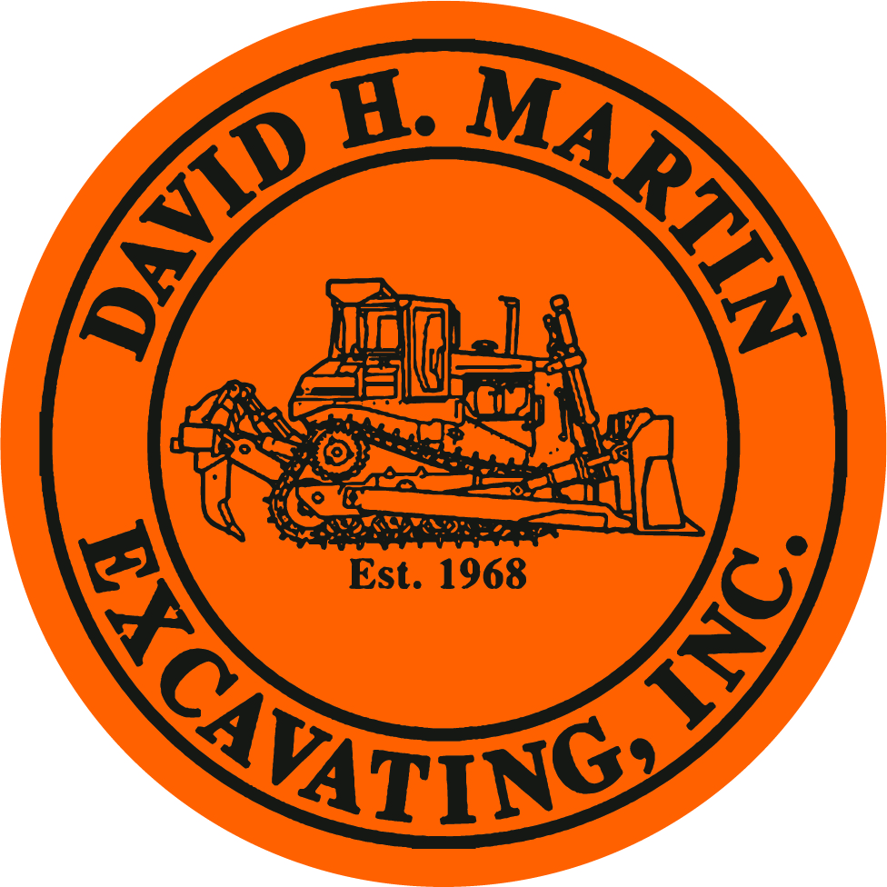 David H. Martin Excavating, Inc. Logo