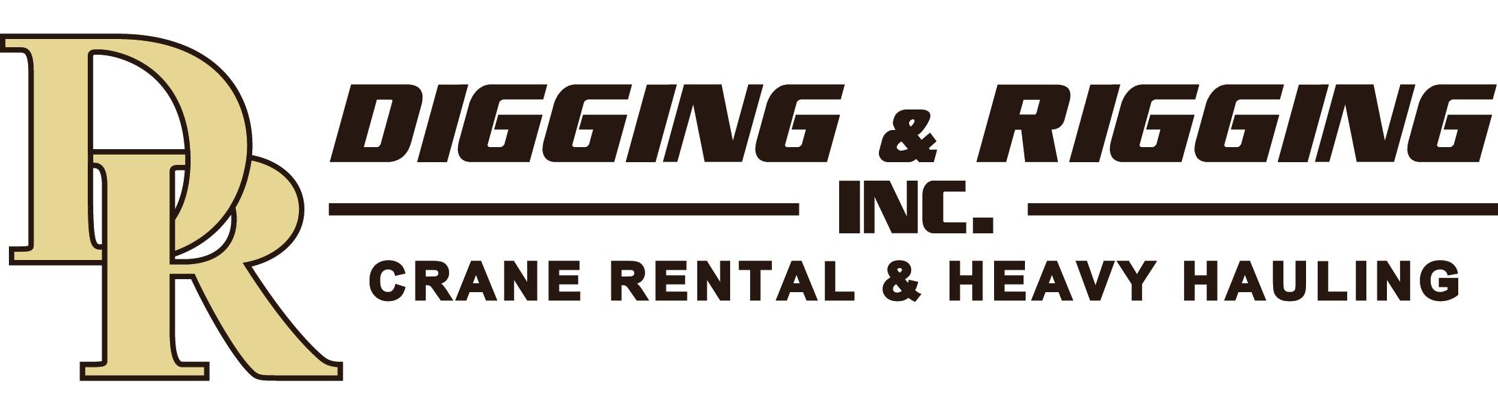Digging & Rigging, Inc. Logo
