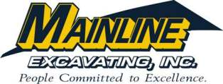 Mainline Excavating, Inc. Logo